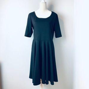 Lularoe black Nicole dress Plus size 2XL